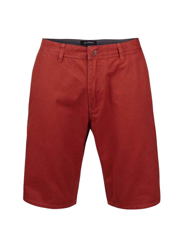Pantaloni chino Quiksilver portocalii
