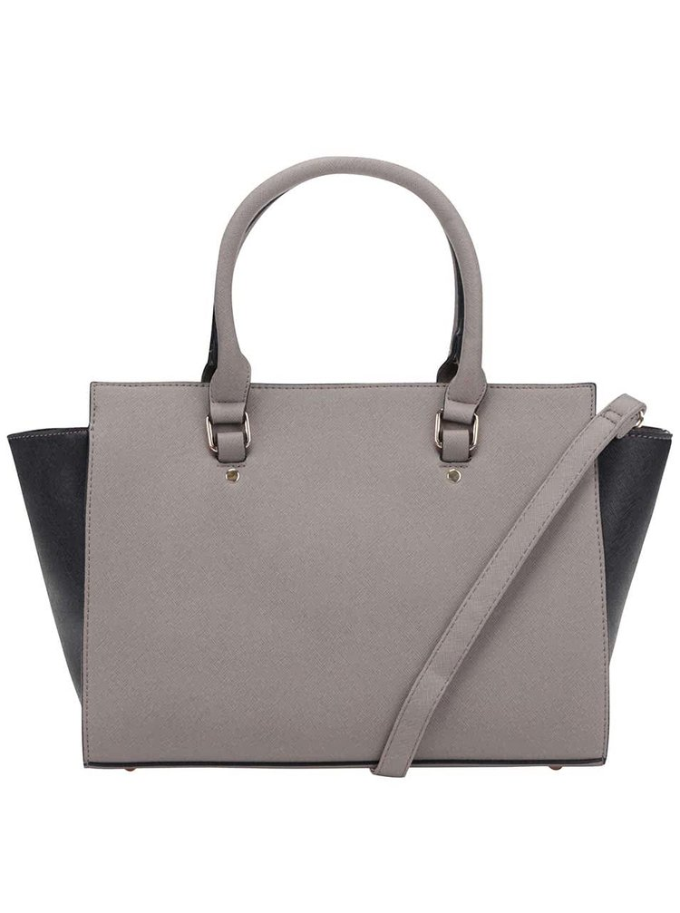 Čierno-sivá kabelka Haily's Mira