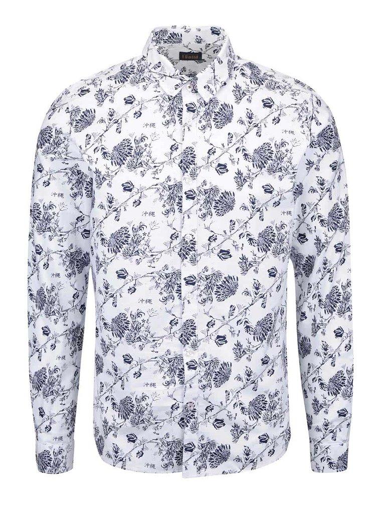 Biela vzorovaná košeľa !Solid Barker