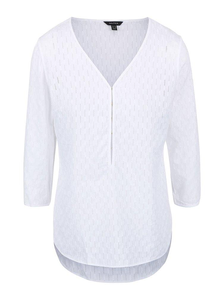 Bluză Nautica albă cu imprimeu