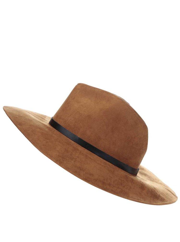Pălărie Pieces Bella maro