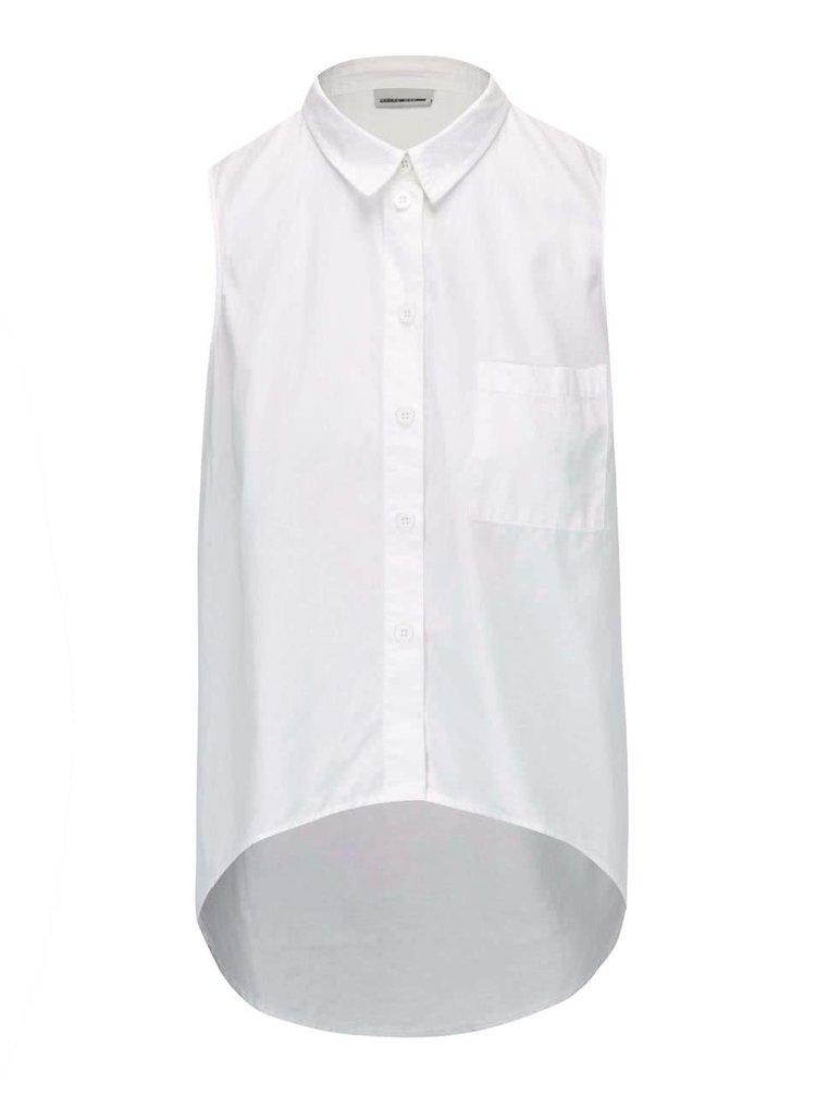 Krémová košile bez rukávů Noisy May Cana