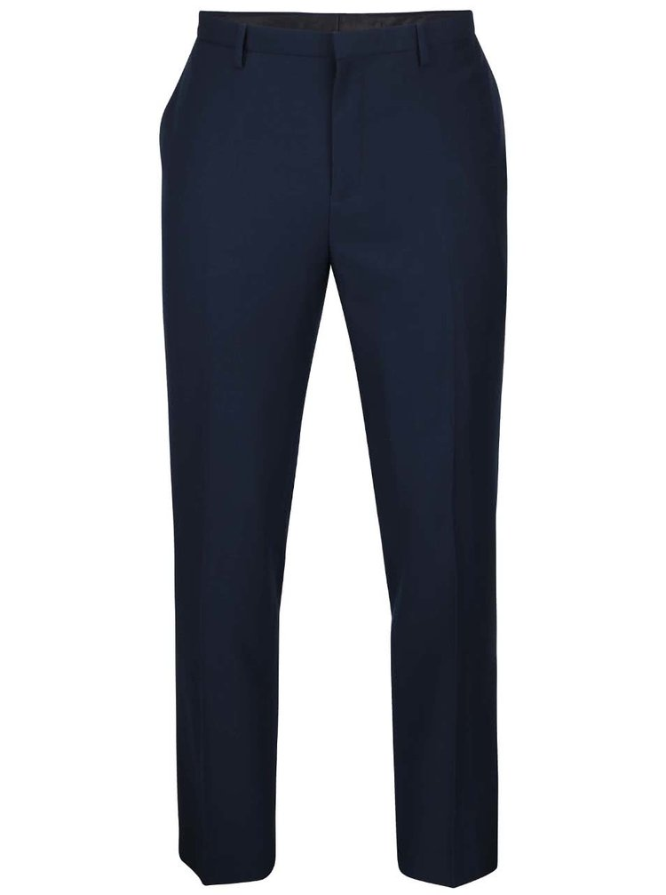 Pantaloni slim fit Burton Menswear London albaștri