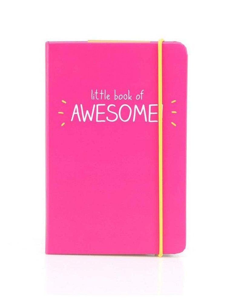 Ružový zápisník A6 Happy Jackson Book of Awesome