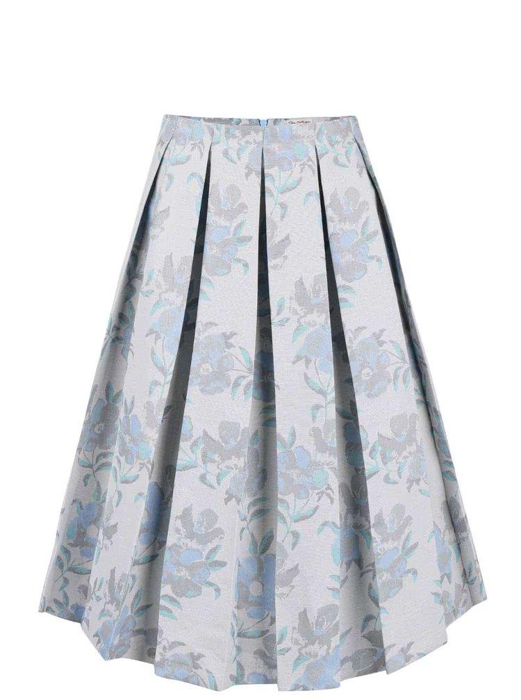 Fustă midi Miss Selfridge albastru deschis
