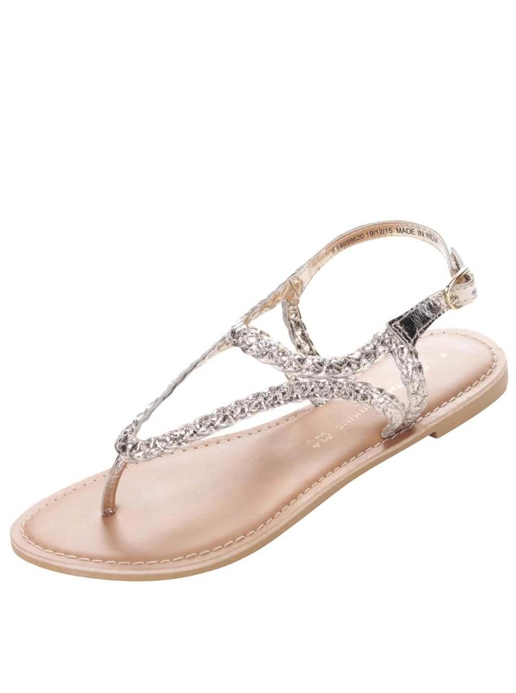 Sandale Dorothy Perkins argintii