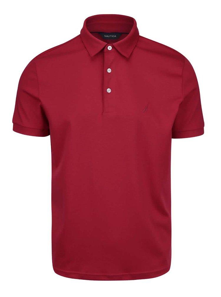 Tricou polo Nautica roșu