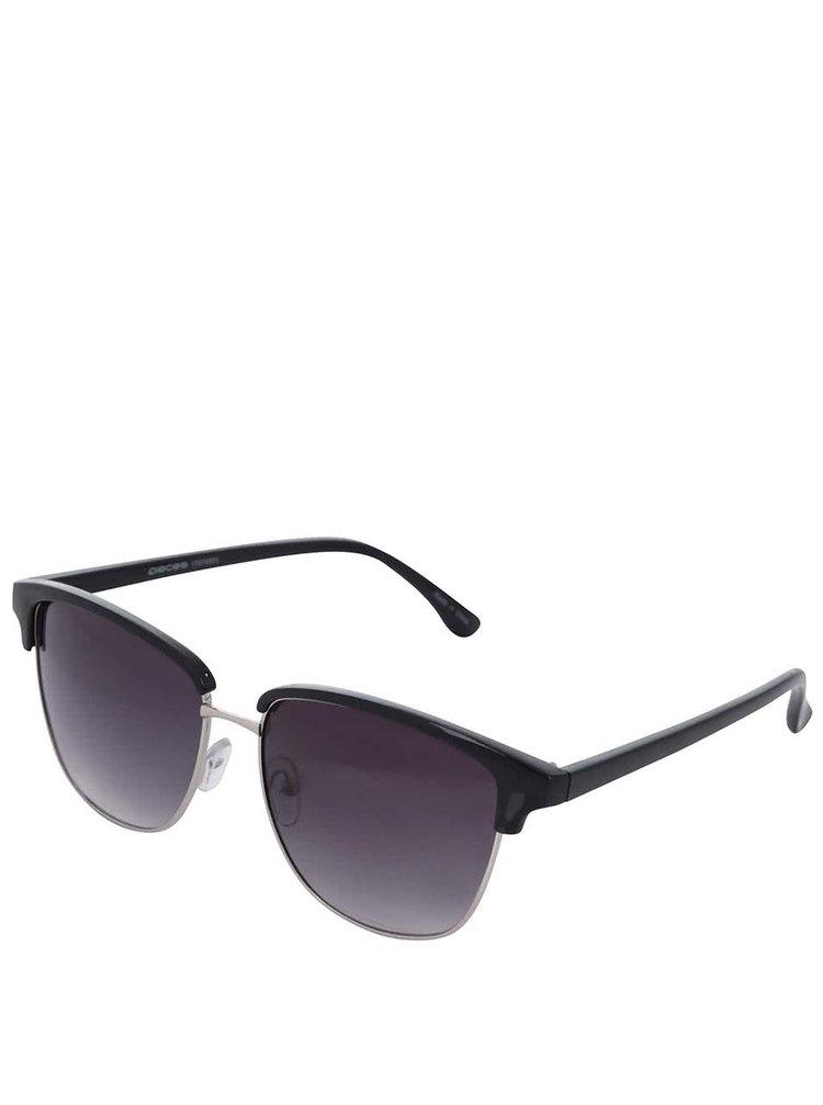 Černé sluneční brýle Pieces Belucca