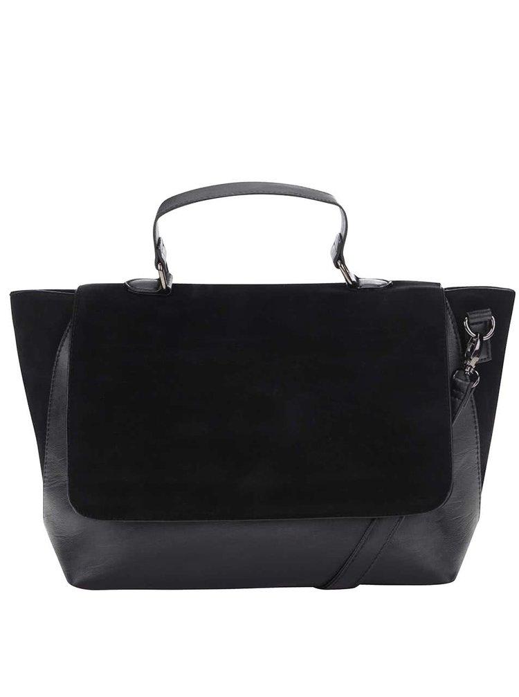 Černá kabelka v semišové úpravě Felicia Haily's
