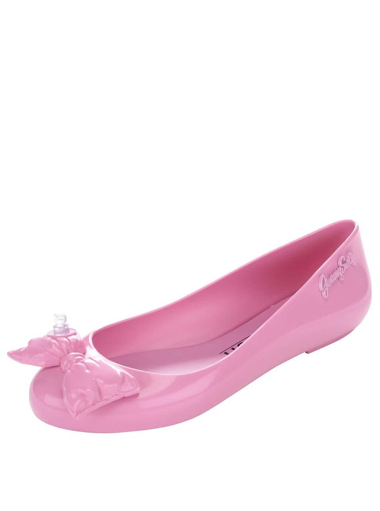 Růžové baleríny s mašlí Melissa Space Love Jeremy