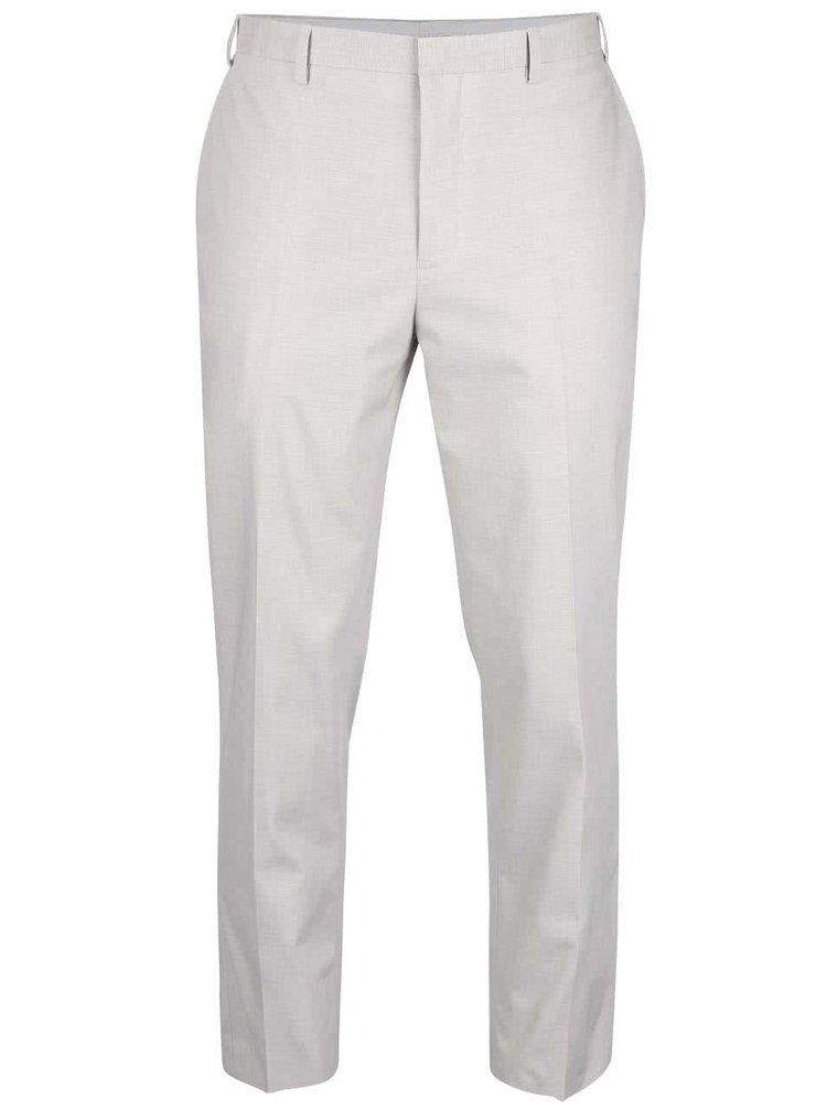 Pantaloni slim fit Burton Menswear London gri deschis