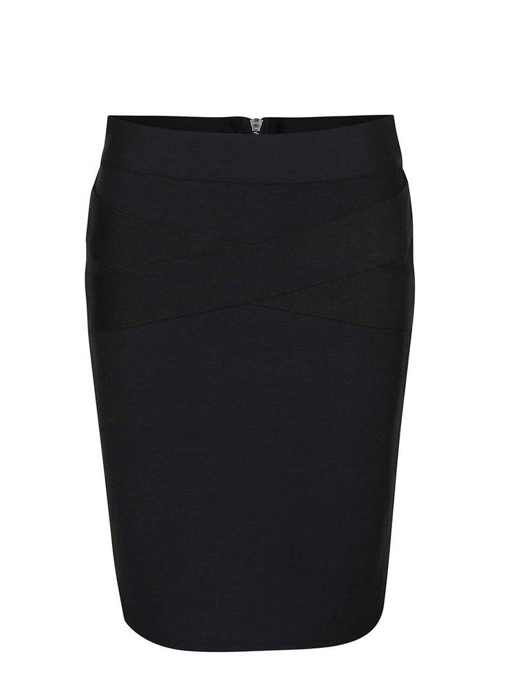 Čierna sukňa VILA Anns