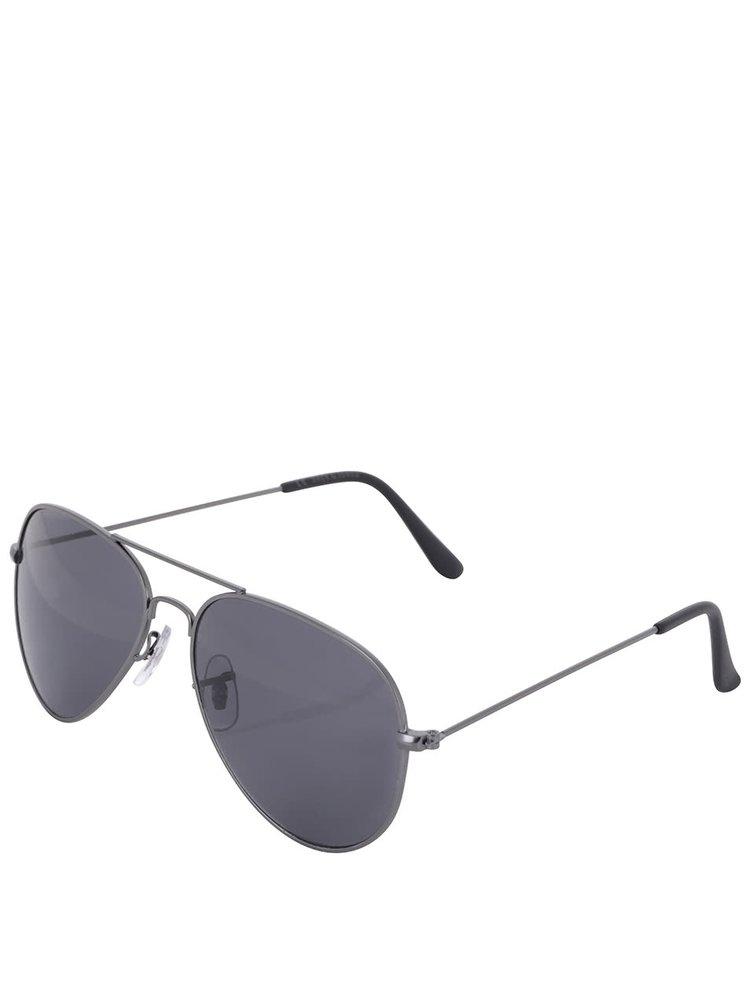 Ochelari de soare Jack & Jones Jack cu rama gri inchis