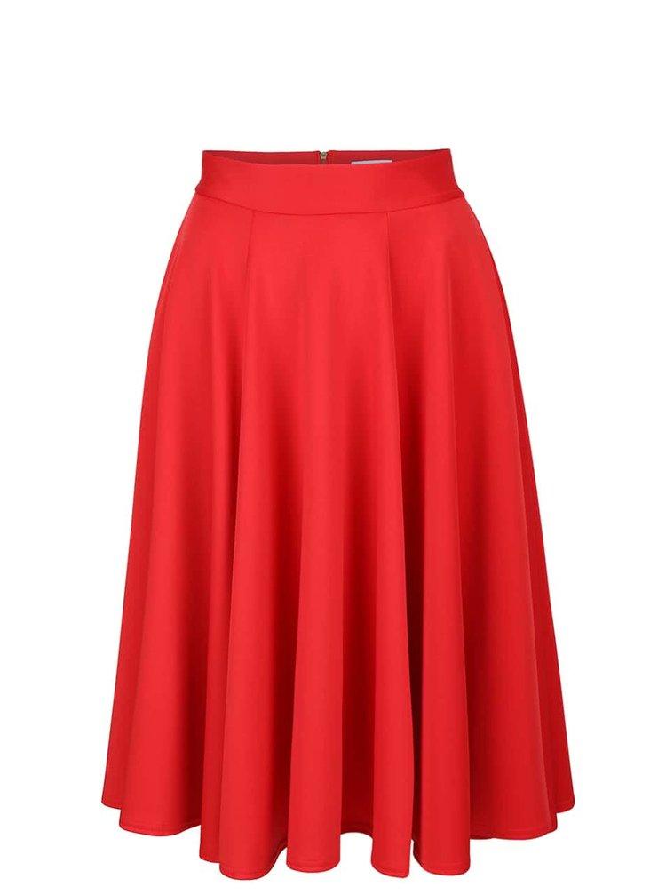 Fustă roșie Closet midi