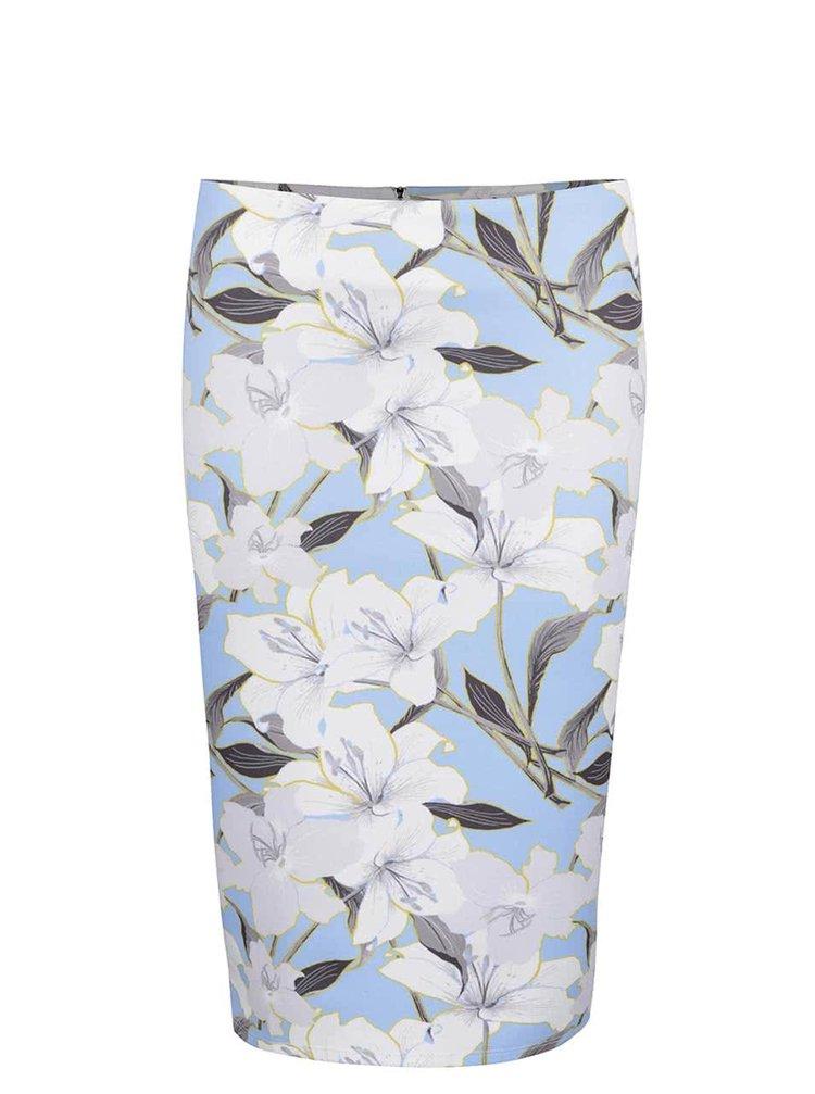 Modrá kvetovaná sukňa Miss Selfridge