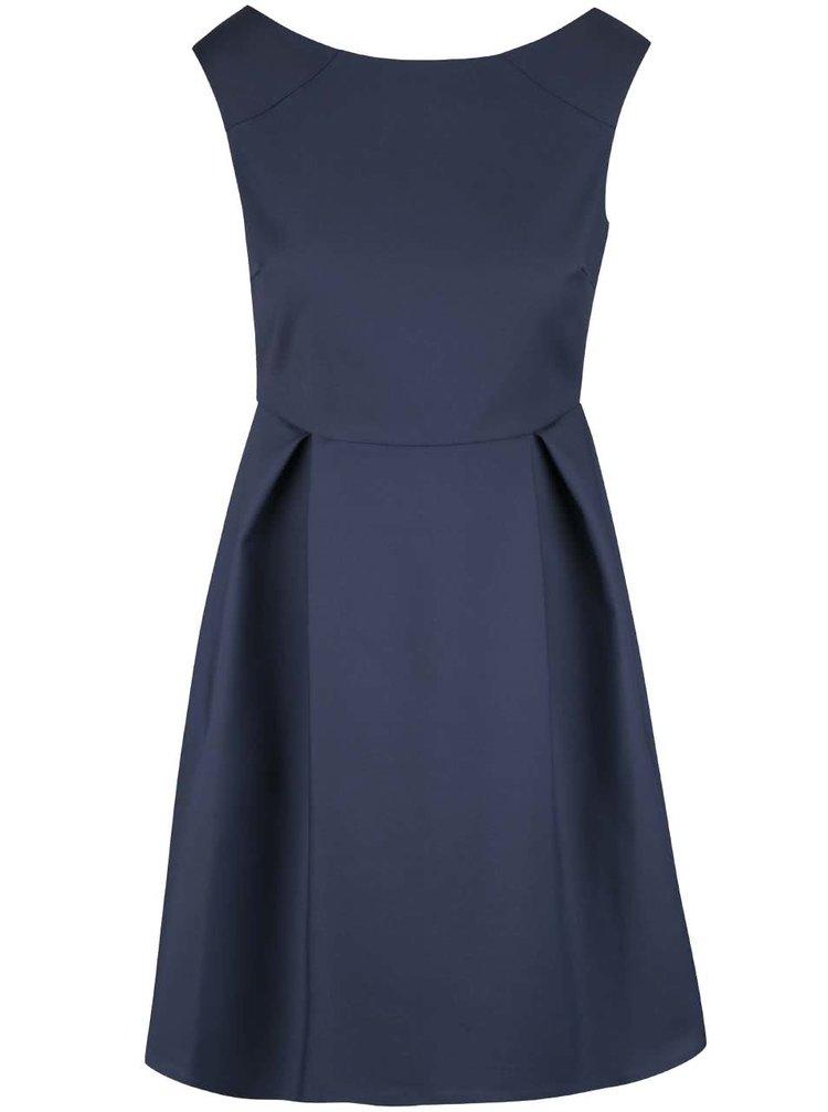 Tmavě modré šaty VILA Salla