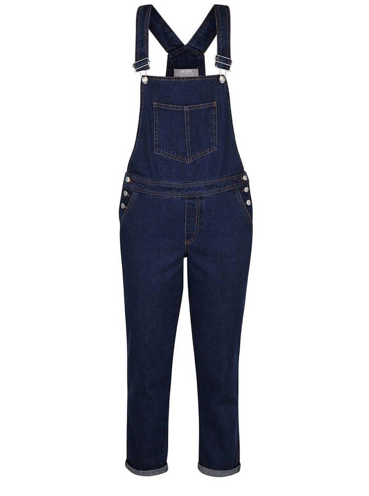 Tmavě modré džínové lacláče Dorothy Perkins