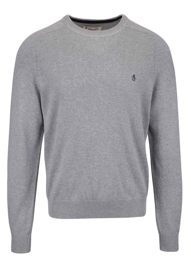 Sivý sveter Original Penguin Whiskee days
