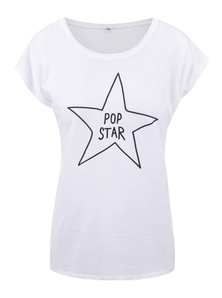 Bílé dámské tričko ZOOT Originál Pop Star