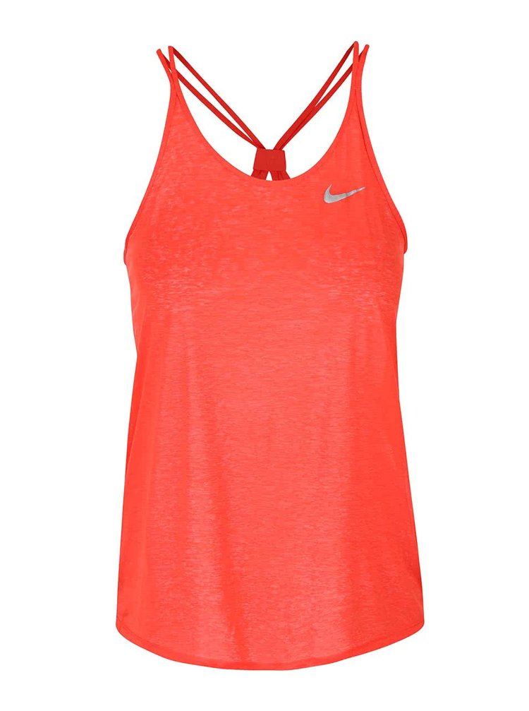 Červené dámské tílko Nike Dri-Fit Cool