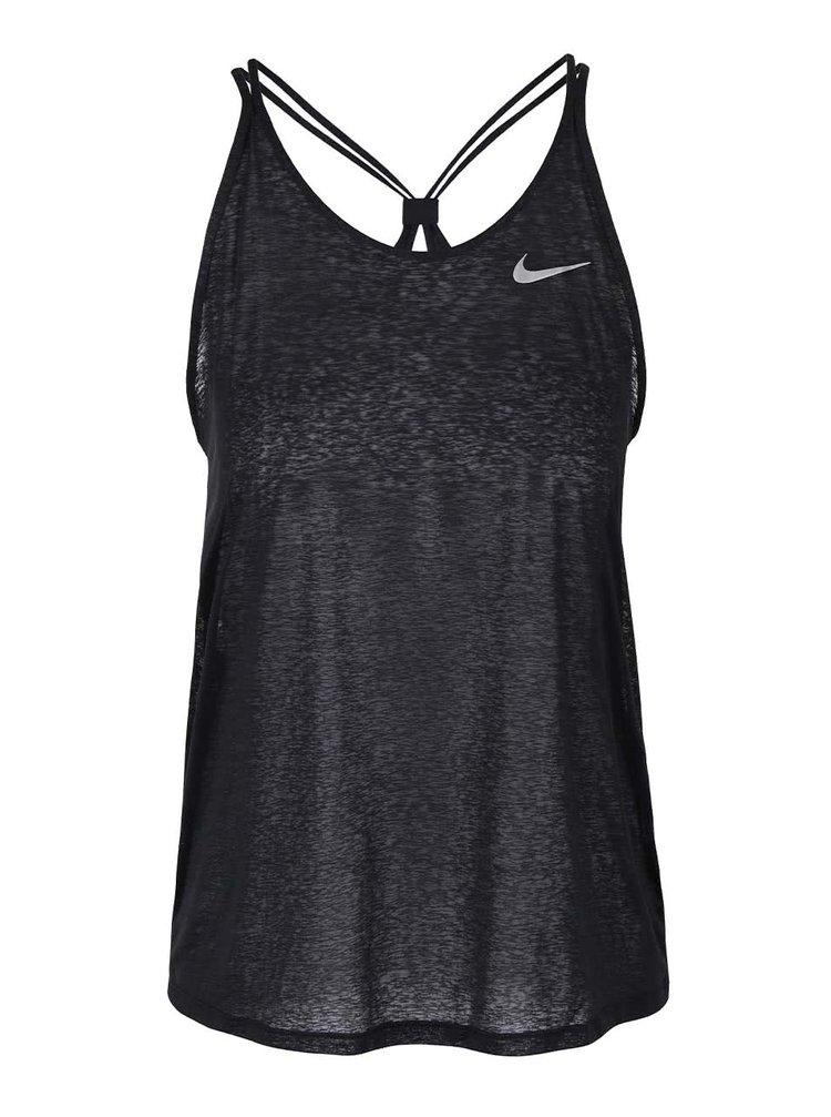 Top negru subțire Nike Dri-Fit Cool