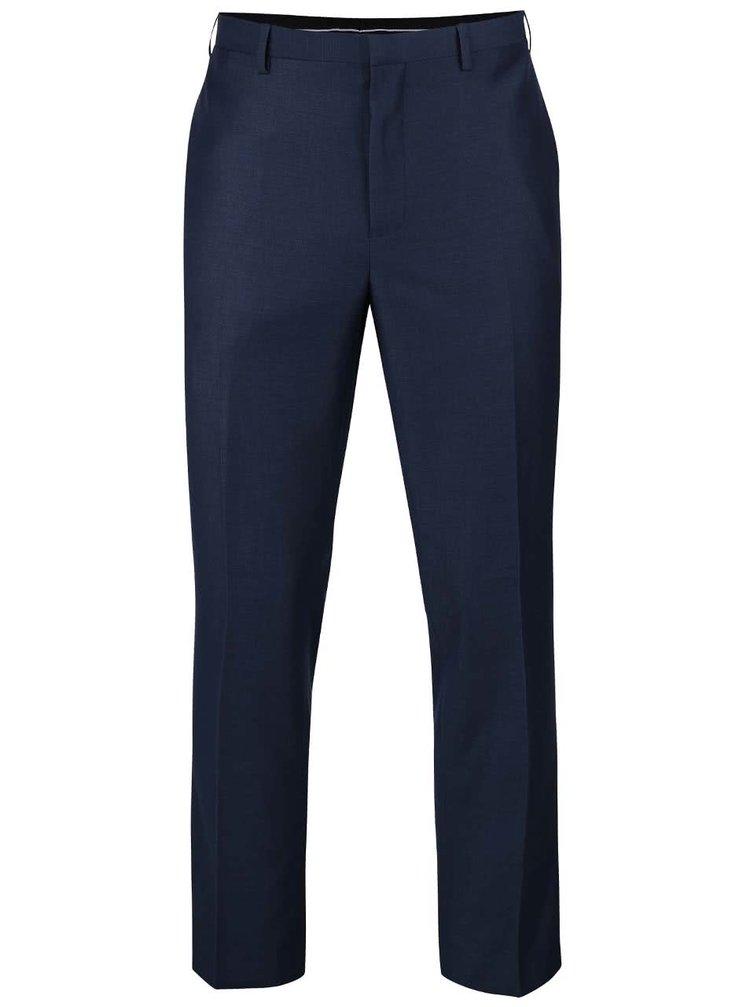 Pantaloni albaștri formal fit Burton Menswear London