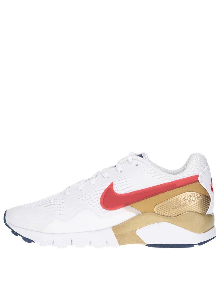 Biele dámske tenisky s detailmi Nike Air Pegasus 92/16