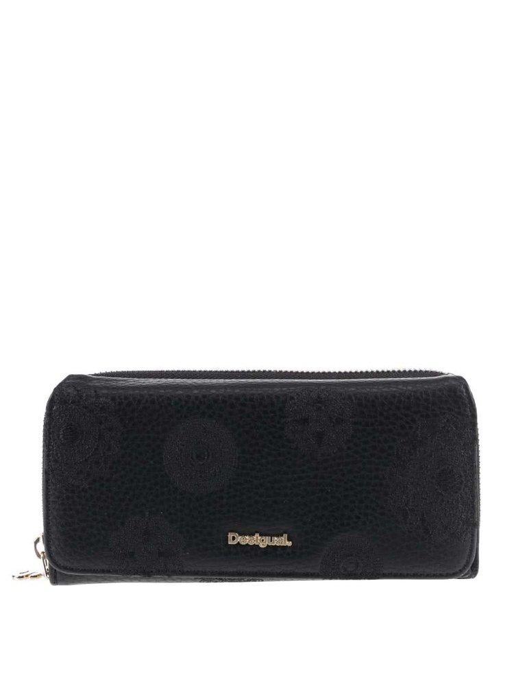 Čierna peňaženka Desigual Maria Alexa