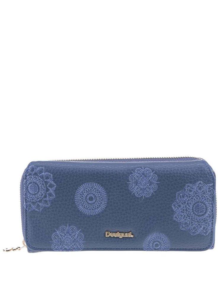 Modrá peněženka Desigual Maria Alexa