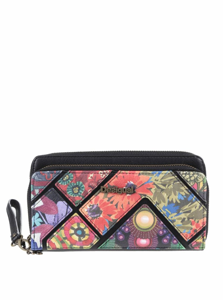 Portofel multicolor Desigual Indiana cu model