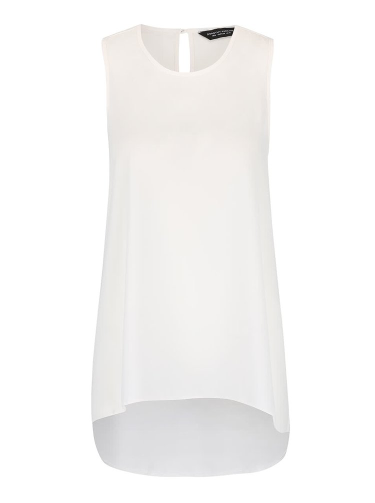 Top asimetric Dorothy Perkins crem