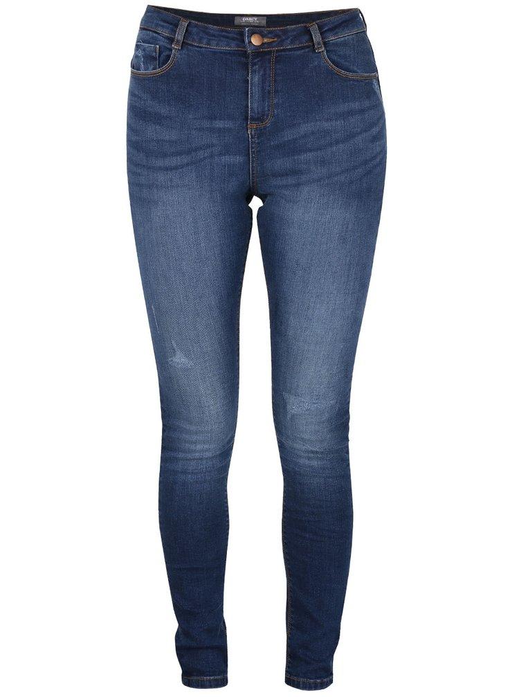 Modré super skinny džíny Dorothy Perkins