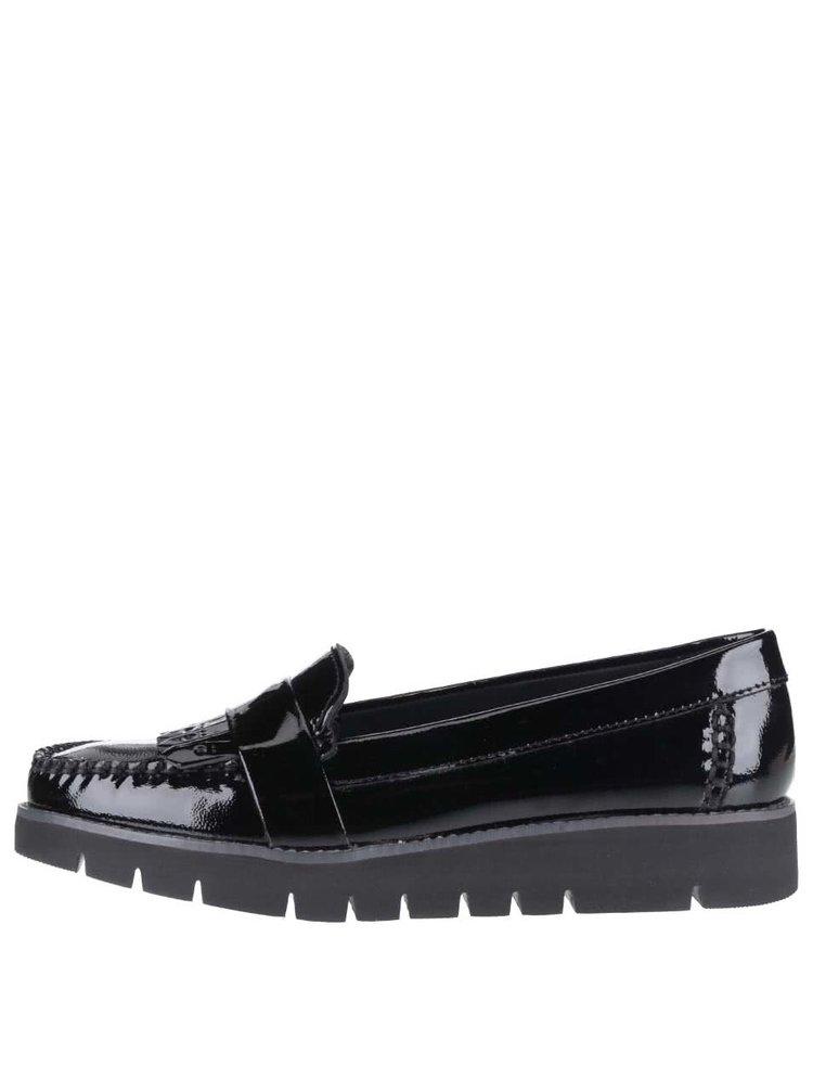 Pantofi loafer negri Geox Blenda