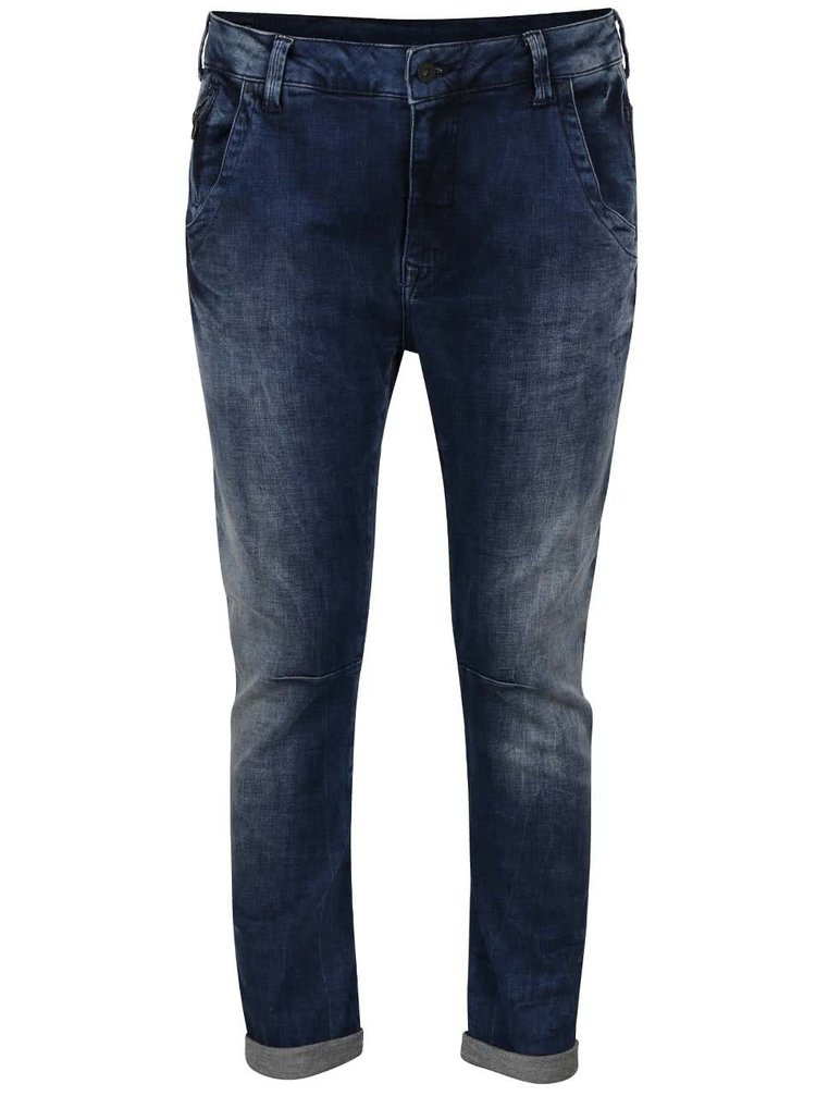 Tmavě modré dámské džíny se sníženým sedem Pepe Jeans Topsy