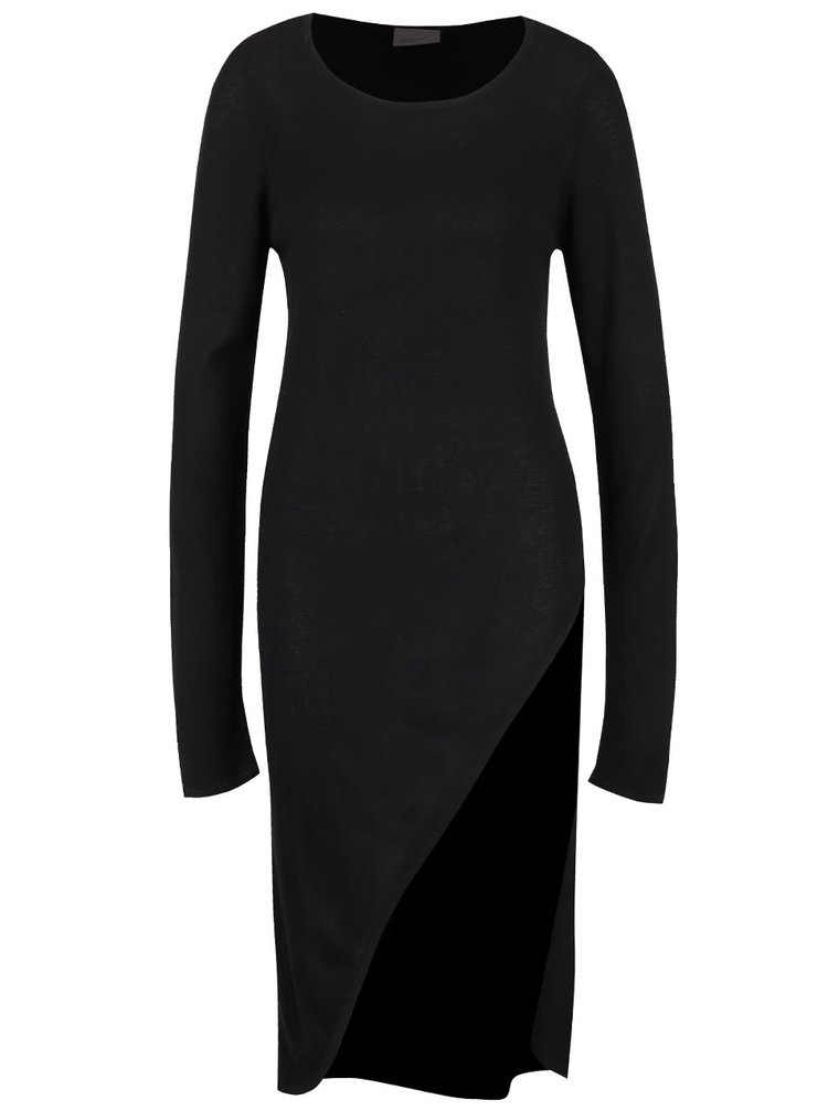 Rochie maxi din jerseu VERO MODA Cathrine neagră