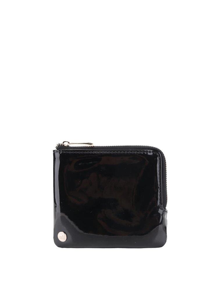 Čierna dámska lesklá peňaženka Mi-Pac Coin Holder