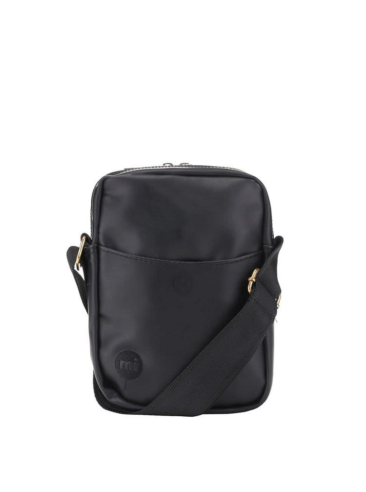 Černá pánská menší crossbody taška Mi-Pac Rubber