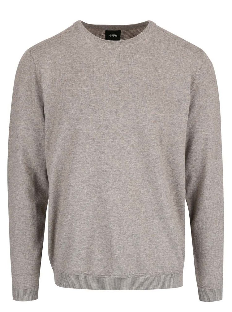 Béžovohnedý sveter Burton Menswear London