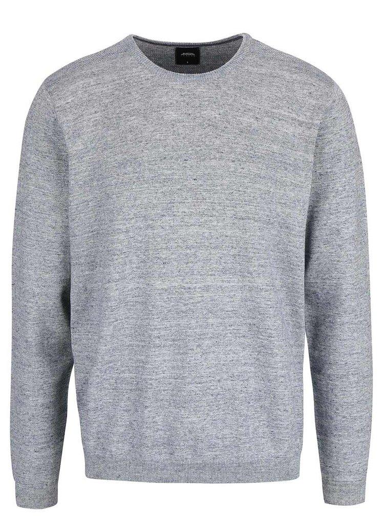 Sivomodrý sveter Burton Menswear London