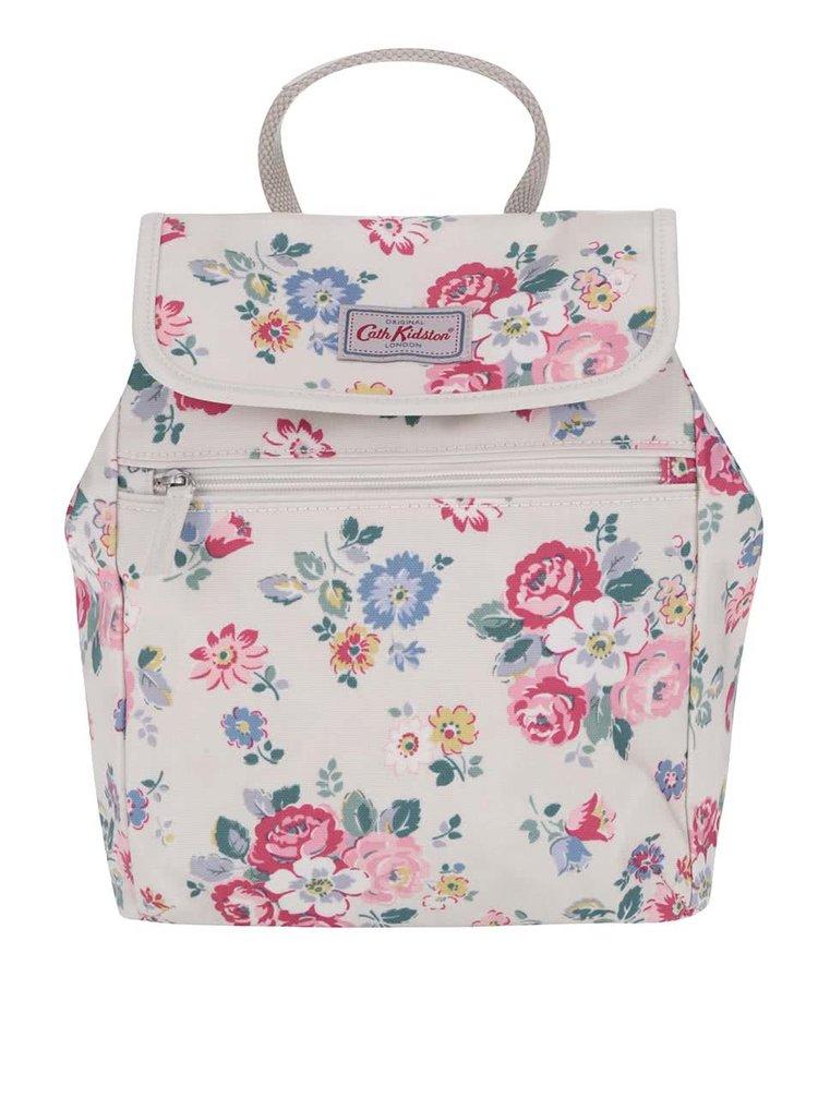 Krémový batoh s kvetinami Cath Kidston