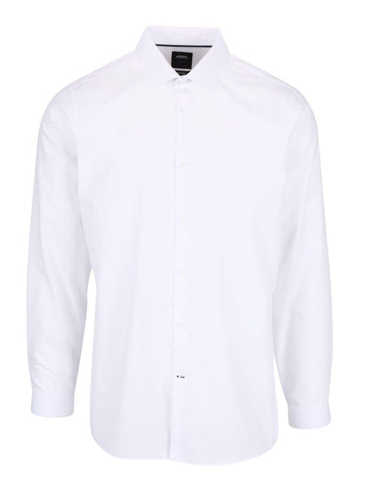 Bílá skinny fit košile Burton Menswear London
