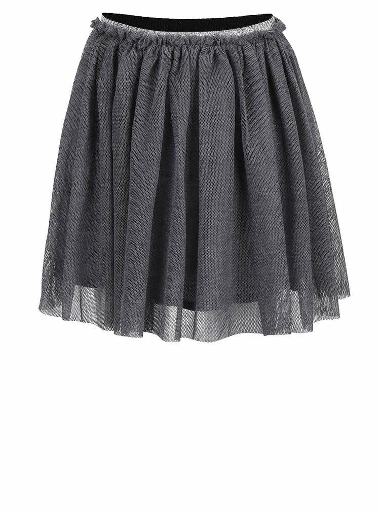 Sivá dievčenská sukňa name it Bala