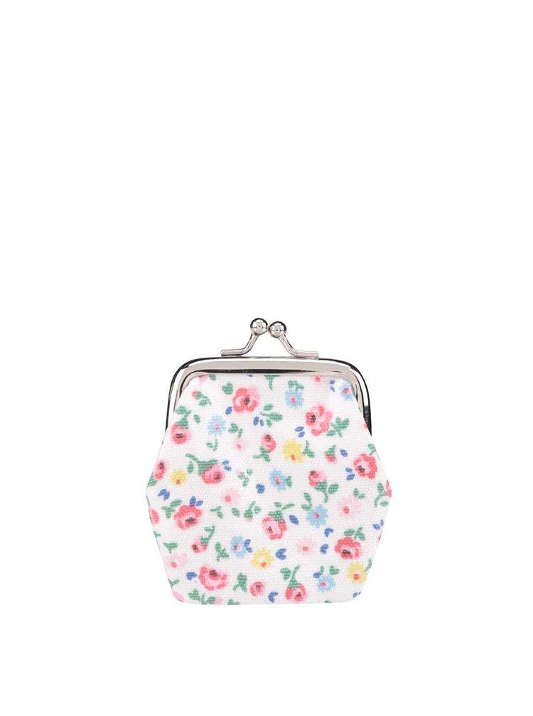 Krémová retro peňaženka s kvetinovým motívom Cath Kidston