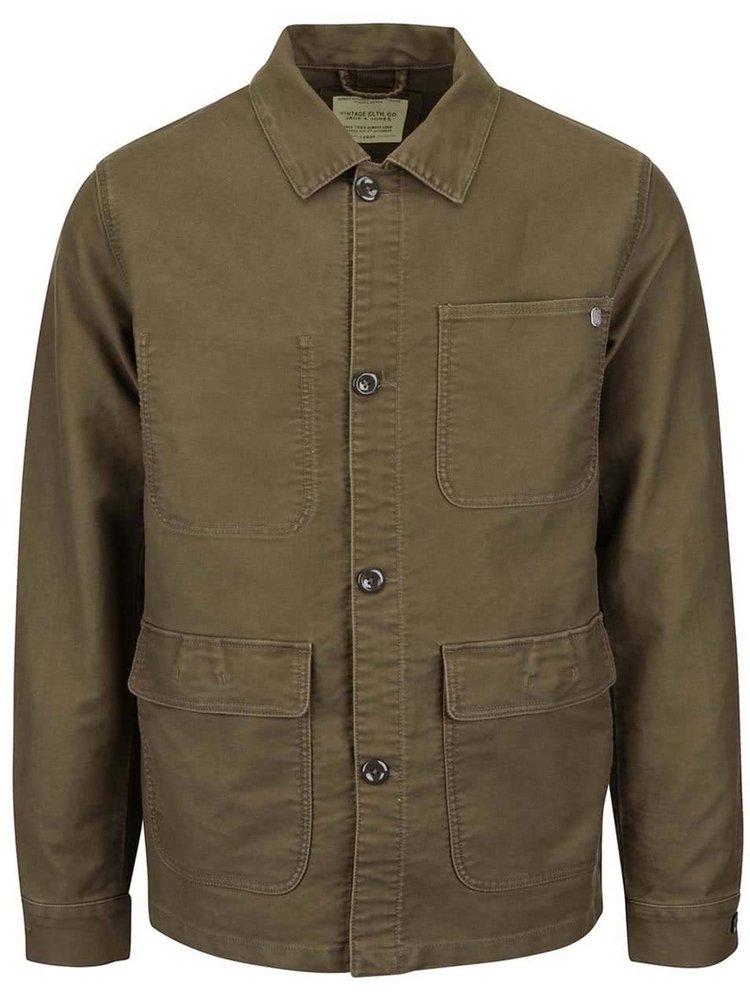 Jachetă Jack & Jones Carl verde