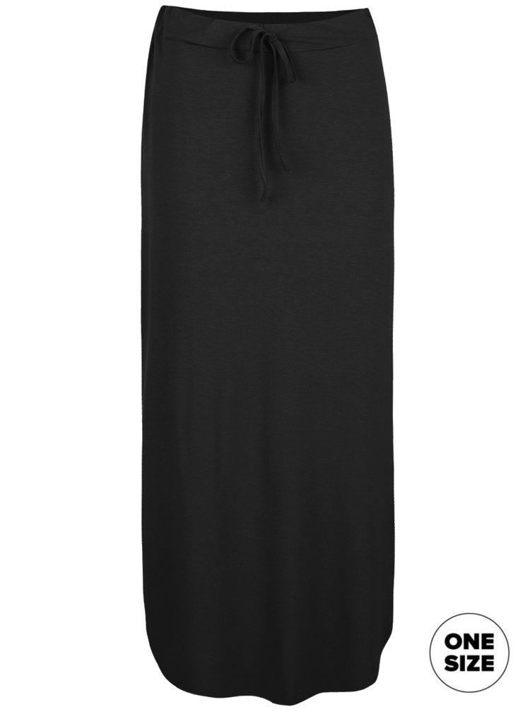 Čierna midi sukňa ZOOT simple