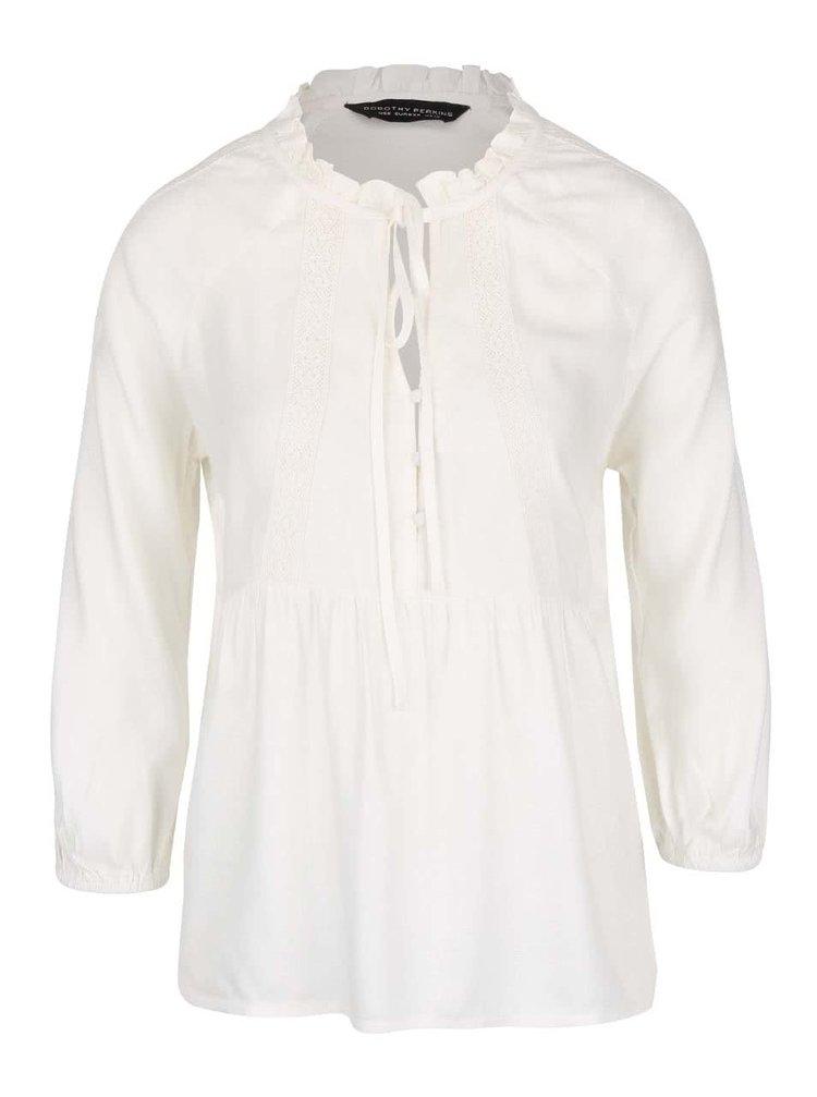 Krémová košeľa Dorothy Perkins