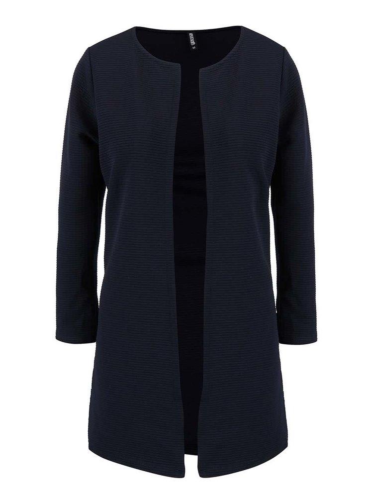 Tmavě modrý dlouhý kabát Haily´s Sandy