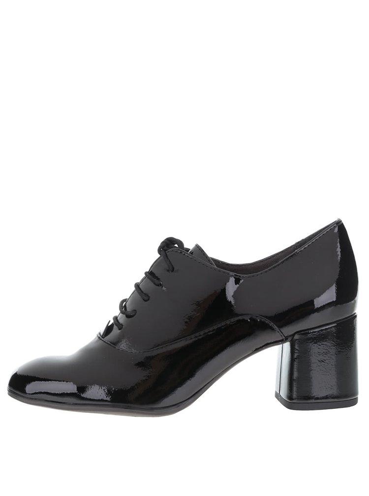 Pantofi cu toc Tamaris lăcuiți