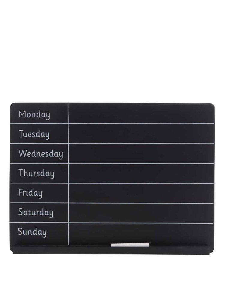 Tablă neagră pentru organizare săptămânală Sass & Belle Weekly
