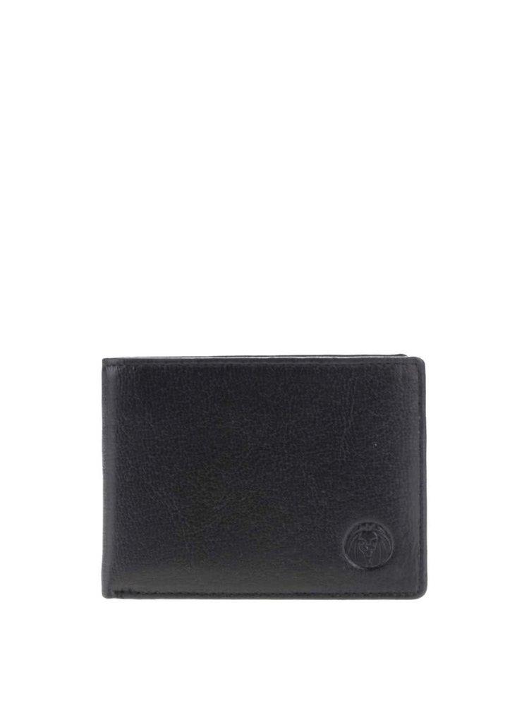 Černá pánská kožená peněženka Lucleon California